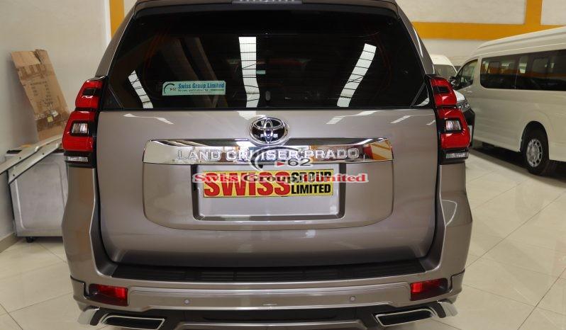 Toyota Land Cruiser Prado 2020 model Carbon Grey full