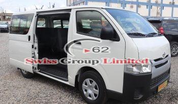 Toyota haice standard bus full
