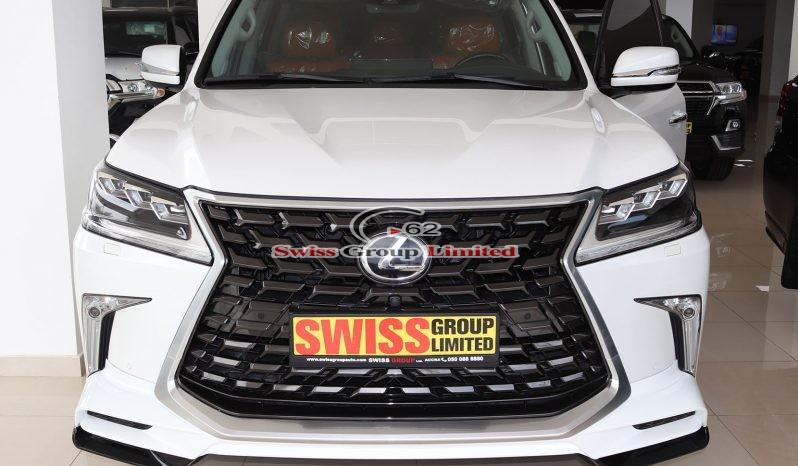 Lexus Lx 570 White full
